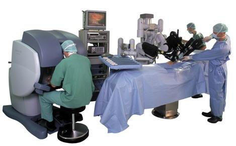 ניתוח רובוטי לכריתת ערמונית